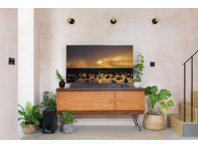Living Room style with Sony ZF9 Soundbar 7b