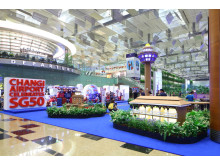 Changi Airport's 50 home spots