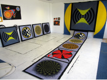 Some of the artwork created as part of the Imagining the Sun project