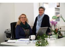 Beraten ab sofort auch online: Marion Springs und Manuela Wolf von der Ergänzenden Unabhängigen Teilhabeberatungsstelle (EUTB) für den Schwalm-Eder-Kreis in Schwalmstadt.
