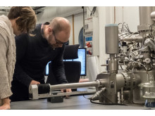 Preparation for analysis in a time-of flight secondary ion mass spectrometer