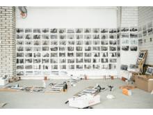 Under arbetet med filmen Horungen i Knutte Westers ateljé (2012–2016)
