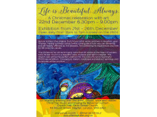 Life is beautiful. A Christmas celebration with art.