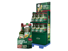 Jameson Whiskey mit Schweppes Ginger Ale 1,0 Liter in passender Geschenkverpackung