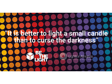 BE THE LIGHT - Press release