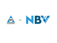 NBVs gamla och nya logotyp