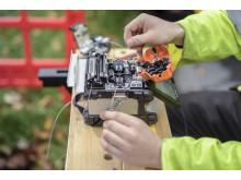 Engineer fibre splicing (6)