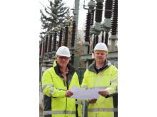 Energieexperten im Umspannwerk Salzkotten.