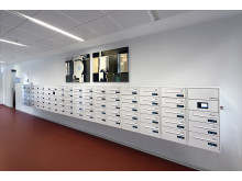 Renz e-Line postkasseanlæg Bomi-Parken, Amager