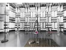 Dyson laboratoire acoustique Supersonic