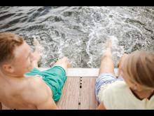 Badesteg Kiellinie