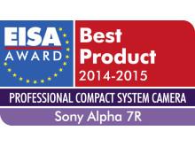 EISA Award 2014_Alpha 7R de Sony