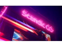 Scandic GO Neon sign