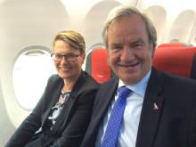 Björn Kjos ja Tine Sundtoft