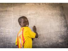 Skolebarn i Tsjad