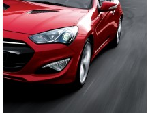 Ny Genesis Coupe (forfra)
