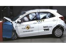 Ford Ka+ Frontal Offset Impact test 2017