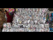 Recyceltes Papier