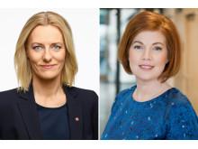 Debattduell Anna Starbrink v Erika Ullberg