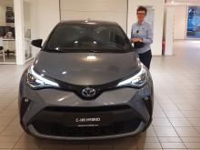 Oppgradert Toyota C-HR er klar for veiene i Mosjøen