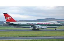 1. Boing 747-273C, Kennzeichen N470EV