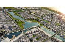Caofeidian - en kinesisk stad skapad av Sweco
