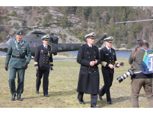75-års minnemarkering på Oscarsborg