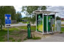 Laddplatser för elfordon på Carlslid i Umeå