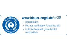 Blauer Engel_burgbad_Label