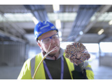 Engineer fibre and copper bundle