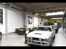 Synlig ventilation i eksklusivt bilhus