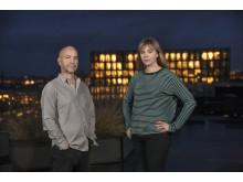 Gellert Tamas och Linn Ogelid, nominerade till Årets Förnyare