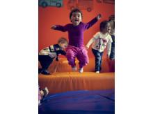 Risikolek i Betha Thorsen Kanvas-barnehage