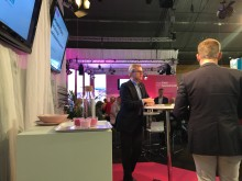 Anders Ekdahl, vd på Svensk Industriförening Sinf, presenterade Exportkartläggningen.