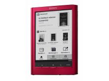 Reader Touch Edition PRS-650 von Sony rot_2