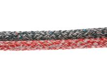 PolyRopes Fall-/Skotlina Poly-Braid-24, vit-navy och vit-röd