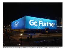 Bildet er tatt på Ziggo Dome-arenaen i Amsterdam planlegger Ford en rekke globale avdukninger den 6. september.