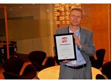 Vinner: Årets nykommer 2012: Storebrand ASA