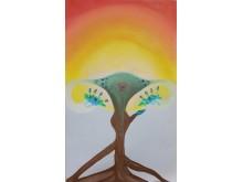 """Kunstwettbewerb """"Malen gegen Eierstockkrebs"""" - Kategorie """"Herz berührend"""" - Platz 1, Paz Lavie"""