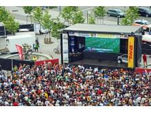 Public Viewing in Leipzig