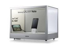 Samsung Transparent Display NL22B