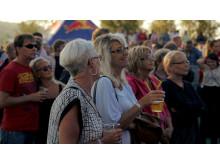 Publik Härnösands stadsfest på Mellanholmen