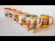 Leipziger Weihnachtsmarkt: Serie der Sandmännchen-Tassen