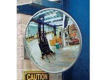 Vidvinkelspegel – för en säker arbetsplats