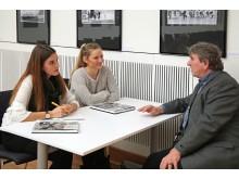 Sarah Stollberg und Sophie Weinhold im Gespräch mit Karl Detlef Mai