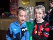 James Bebbington to Jake Broadhurst take part in Mad Science