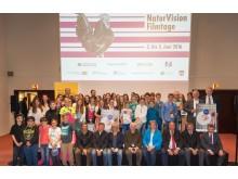 Großes Finale beim Schulfilmwettbewerb 2016 mit allen teilnehmenden Schülerinnen und Schülern
