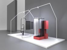 Konzeptstudien im Rahmen von burgbad lab in Kooperation mit der Hochschule Hannover. Links: SAGUARO, rechts: Badroschka