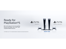 Ready for PlayStation 5 BRAVIA art