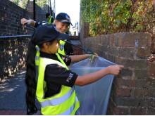 TVP Mini Police litter picking